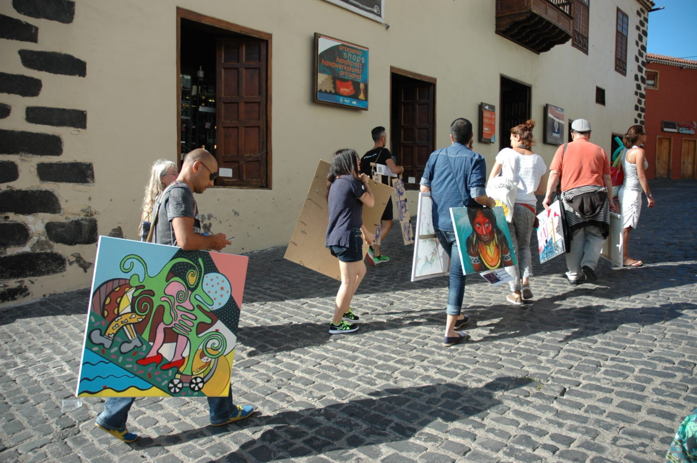 Walking Gallery en Puerto de la Cruz