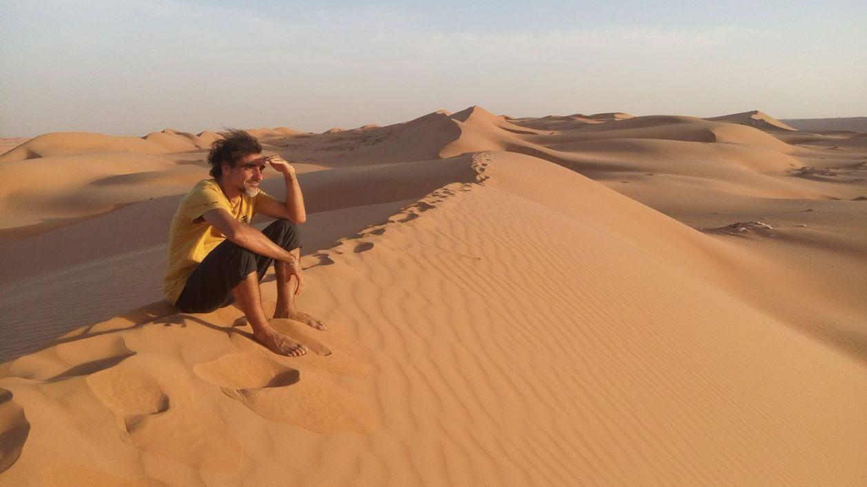 David López, un aventurero que recorre el mundo