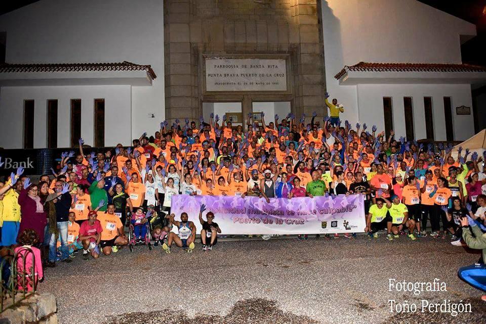 350 corredores participaron en la IV Carrera Nocturna de Punta Brava