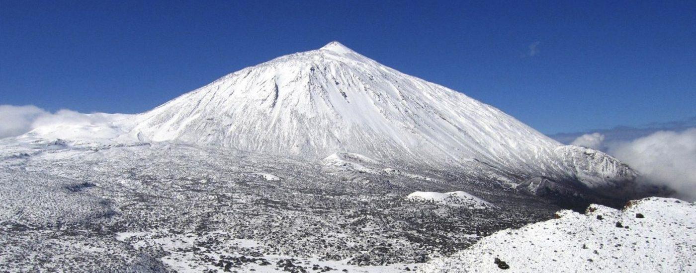 Una blanca Navidad en Tenerife