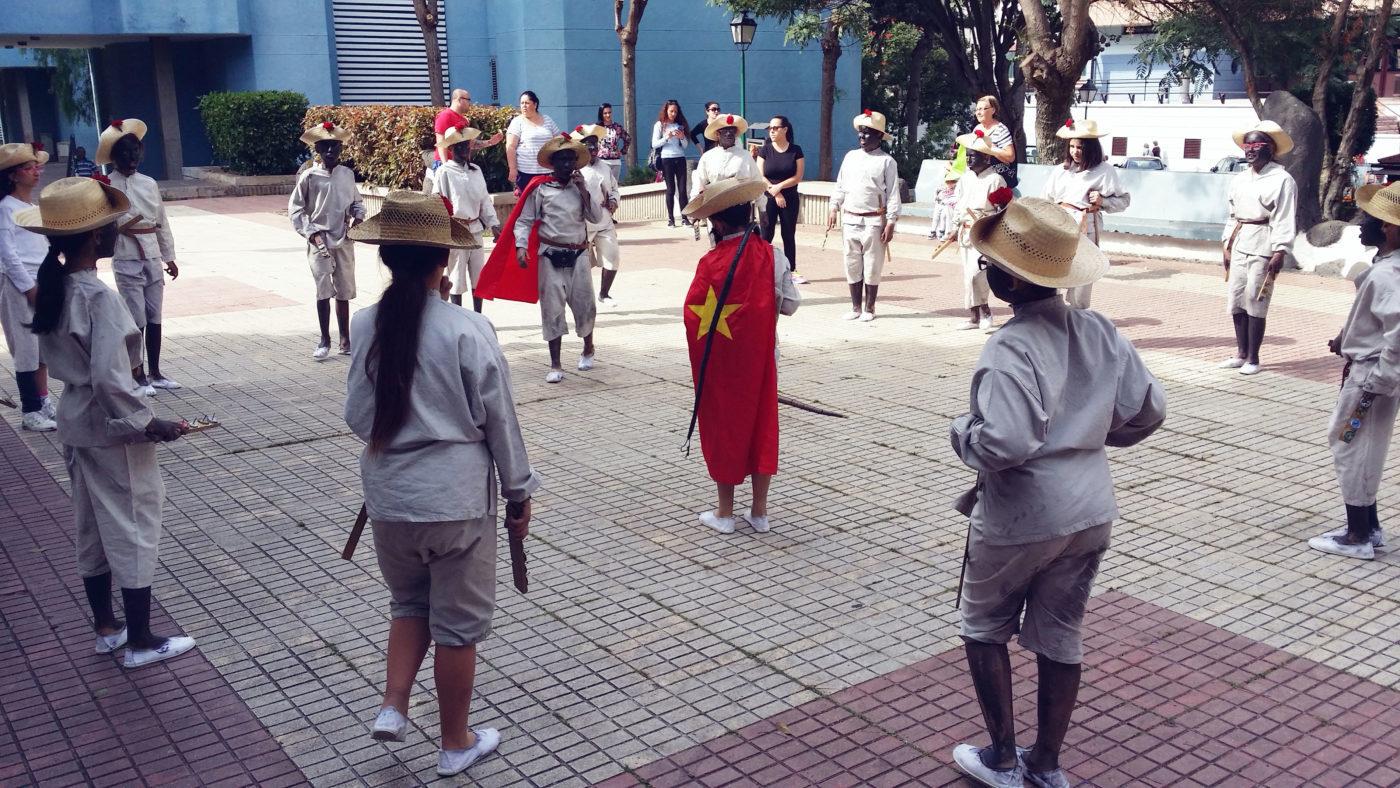 Más de 100 escolares participan este año en el 'Mataculebra' del Puerto de la Cruz
