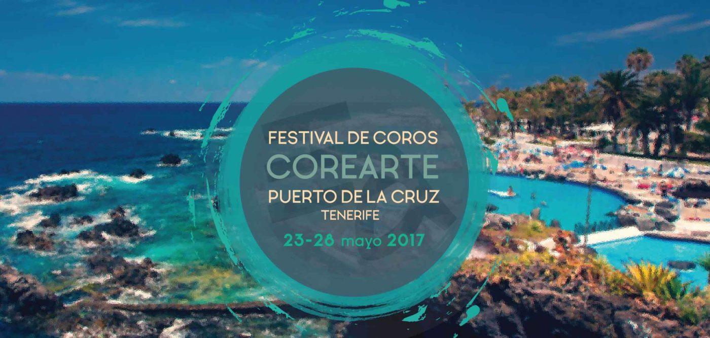 Puerto de la Cruz acoge el Festival Internacional de Coros «Corearte 2017»