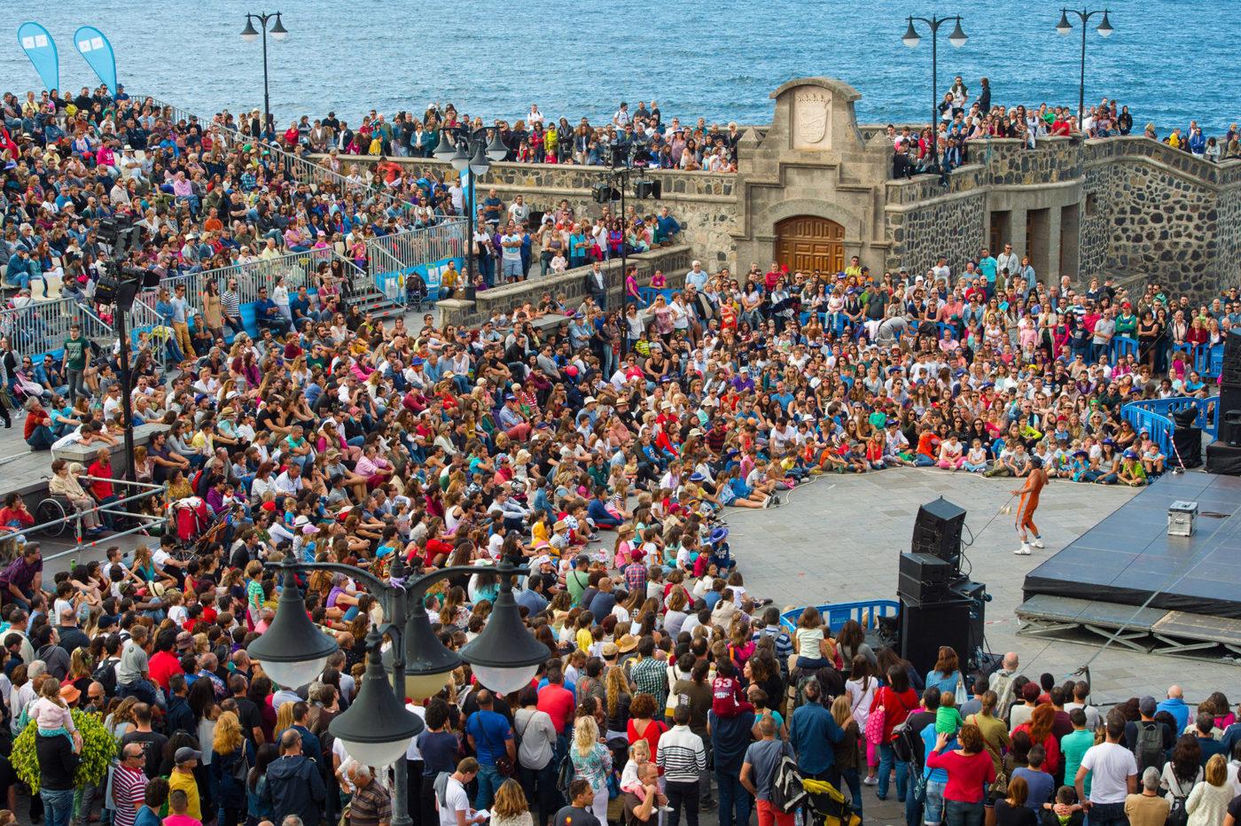 Mueca regresa a Puerto de la Cruz con cuatro días de arte en la calle