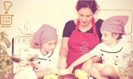 Taller de cocina en familia