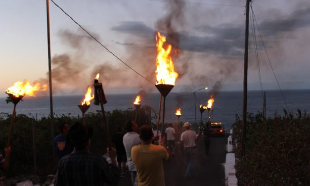 La «Fiesta del Humo» recuerda los festejos de La Rambla de principios del siglo XX