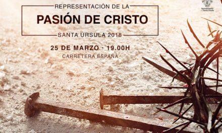 La representación de la Pasión de Cristo cumple una década en Santa Úrsula